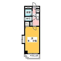 STUDIO NANBU(スタジオナンブ)[3階]の間取り