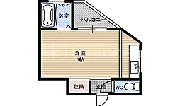東洋ハイツ[4階]の間取り