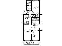 シャトルTH20[1階]の間取り