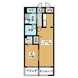 あいさきがけ[11階]の間取り