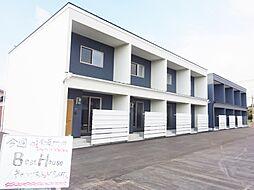 福岡県筑後市大字熊野の賃貸アパートの外観