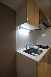 アジールコート池上の料理が好きな方におすすめの「2口ガスシステムキッチン」