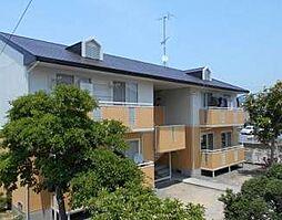 愛媛県松山市越智2丁目の賃貸アパートの外観