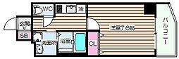 ファーストフィオーレ大阪ウエスト[4階]の間取り
