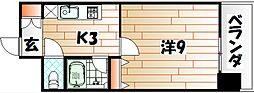 シャルム明石II[3階]の間取り