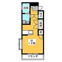 クレストヒルI[2階]の間取り