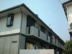 東京都練馬区平和台3丁目の賃貸アパートの外観