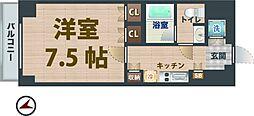 東京都中野区鷺宮1丁目の賃貸マンションの間取り