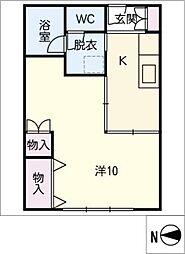 食品ビル A棟[5階]の間取り
