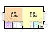 間取り,1DK,面積27.33m2,賃料3.8万円,JR根室本線 釧路駅 徒歩12分,バス くしろバス身障者福祉センター前下車 徒歩2分,北海道釧路市川北町3-16