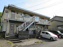 富美山コーポ那須[201号室]の外観