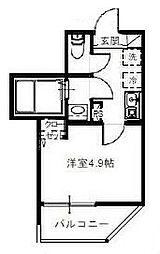 埼玉新都市交通 鉄道博物館(大成)駅 徒歩8分の賃貸アパート 2階1Kの間取り