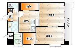 渡邊ビルII[4階]の間取り