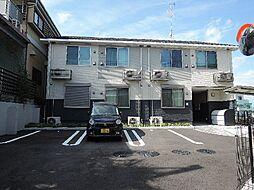 京都府宇治市宇治天神の賃貸アパートの外観