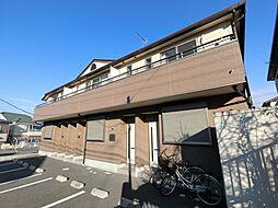 千葉県佐倉市江原台2丁目の賃貸アパートの外観