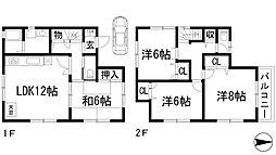 [一戸建] 兵庫県西宮市名塩1丁目 の賃貸【/】の間取り