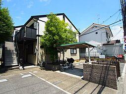 大阪府堺市東区菩提町3丁の賃貸アパートの外観