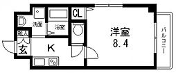 GLS小路東[202号室号室]の間取り