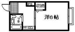 メゾンドフォーレ[105号室]の間取り
