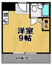 モンシャトルII[3階]の間取り