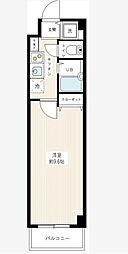 東京都大田区東雪谷4丁目の賃貸マンションの間取り