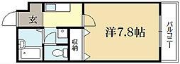 ラヴィ松ヶ崎[2階]の間取り