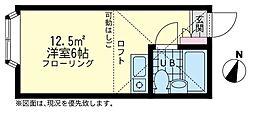 ユナイトステージ KANSEIフォンターレ[2階]の間取り