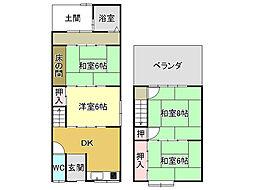 京都地下鉄東西線 東野駅 徒歩23分
