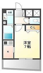 アーデン甲子園[4階]の間取り
