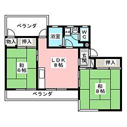 興宗ビル[3階]の間取り