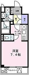 ガーデンハウス柿の木坂[1階]の間取り