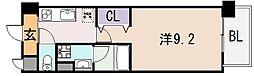 G・クレセント[1階]の間取り