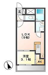 FAMILY STAGE矢田(ファミリーステージヤダ)[1階]の間取り