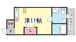 JS大同町[A-3号室]の間取り