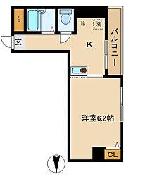 東京都大田区東矢口3丁目の賃貸マンションの間取り