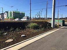 敷地角にゴミ集積所がございます。2017/12/9撮影
