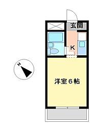 愛知県名古屋市南区呼続1丁目の賃貸マンションの間取り