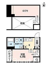 AVANTI 〜アヴァンティ〜 今宿[1階]の間取り