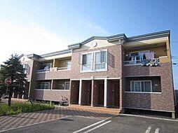 北海道滝川市泉町の賃貸アパートの外観