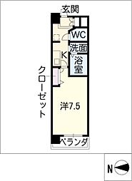 ASレジデンス千代田[2階]の間取り