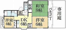 虎陽館[1階]の間取り