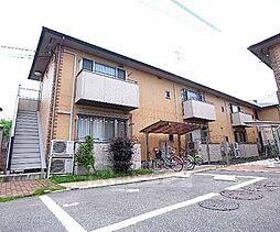 京都府宇治市伊勢田町井尻の賃貸アパートの外観