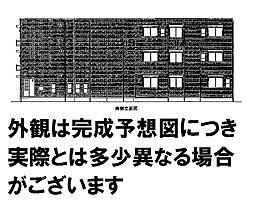 広島県広島市西区草津梅が台の賃貸アパートの外観