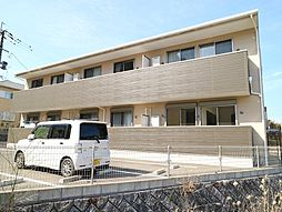 福岡県宗像市緑町の賃貸アパートの外観