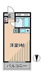中銀大倉山マンシオン[2階]の間取り
