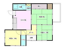 [テラスハウス] 広島県広島市西区己斐上4丁目 の賃貸【/】の間取り