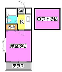 アピア志木[2階]の間取り