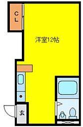 丸美タウン[2階]の間取り
