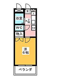 SK徳川[2階]の間取り