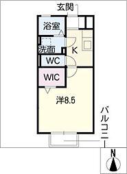 メルベーユ・メゾン[2階]の間取り